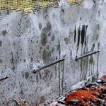 Инъектирование стен средней школы
