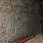 Гидроизоляционная штукатурка кирпичной стены